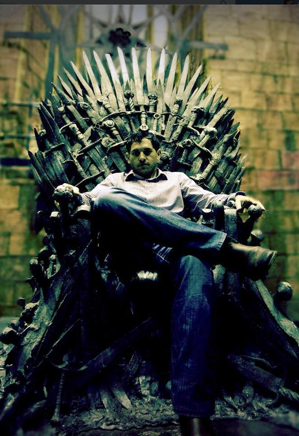 Jabbar Raisani won an Emmy for his VFX supervision on the hit HBO series Game of Thrones. - COURTESY