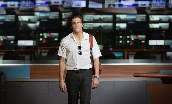 Jake Gyllenhaal plays self-made monster Lou Bloom in Dan Gilroy's pitch-black 'Nightcrawler' - COURTESY