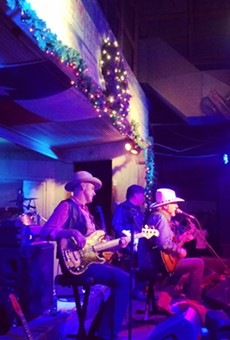 Jerry Jeff Walker performs at the historic Gruene Hall.