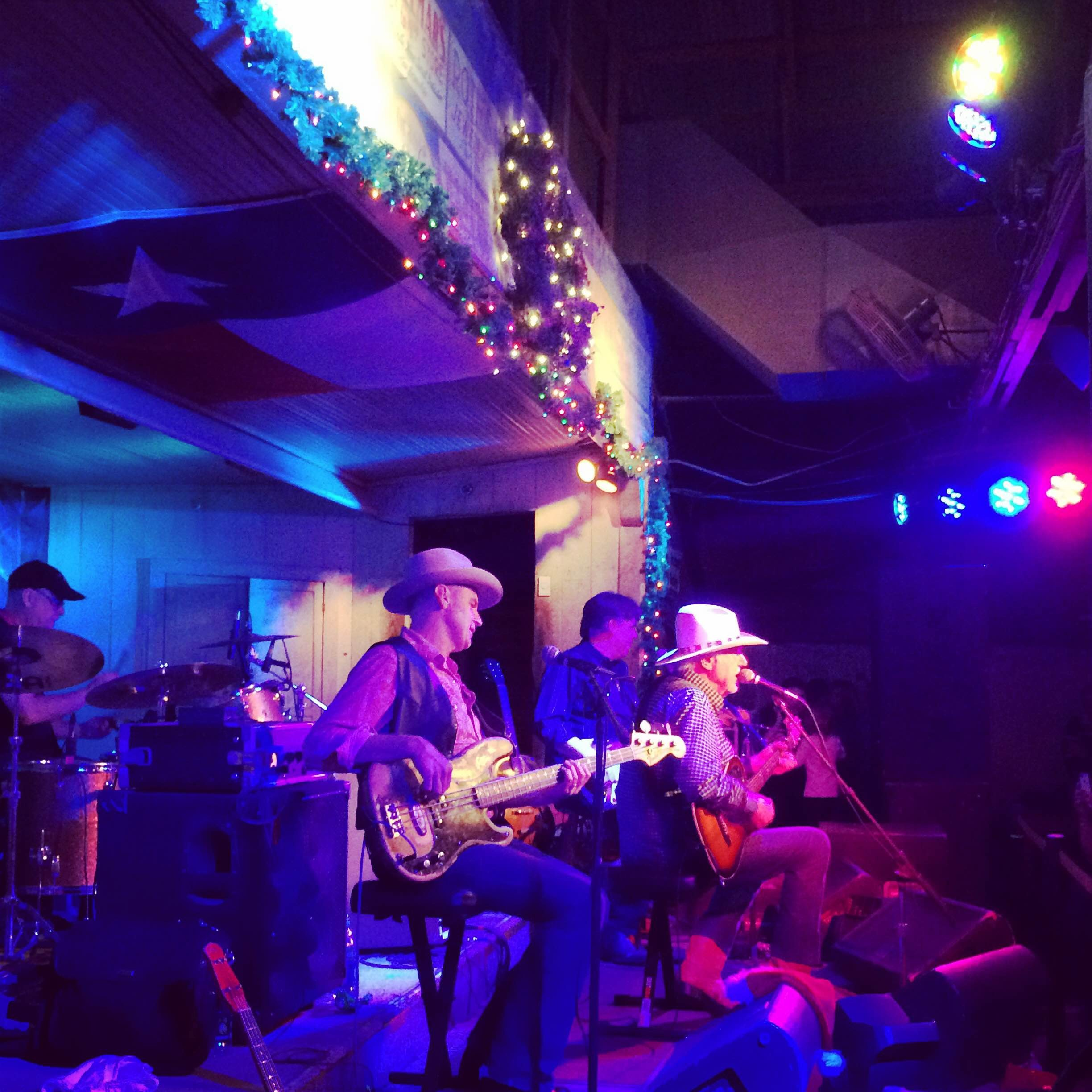 ... Jeff Walker performs at the historic Gruene Hall. - FELICIA ESPARZA