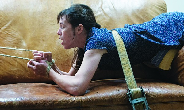 Joe (Charlotte Gainsbourg) gets a painful Christmas present in Lars von Trier's Nymphomaniac. - COURTESY