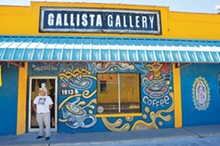 Joe Lopez at Gallista Gallery on South Flores