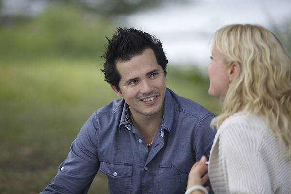 John Leguizamo and Radha Mitchell in a scene from the anti-romantic comedy Fugly! - COURTESY