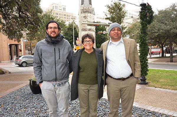 Josh Yurcheshen, Sandra Whitley and Joseph Tanasi will staff Thrive Youth Center - BRYAN RINDFUSS