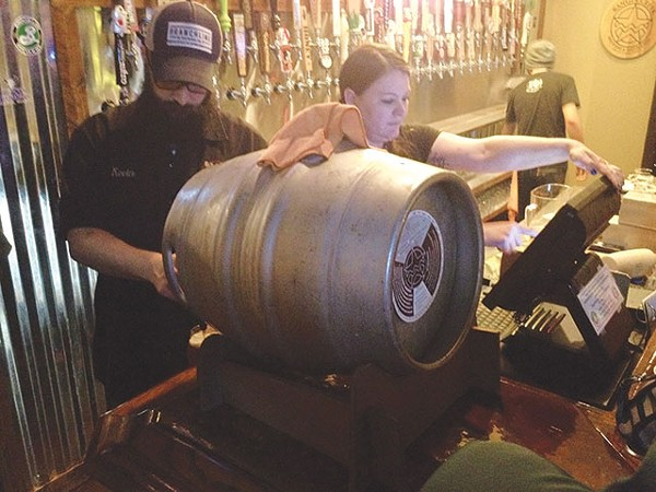 Keep the casks flowing - LEE NICHOLS