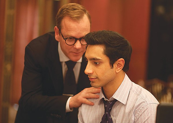 Kiefer Sutherland plays capitalist mentor to Riz Ahmed's conflicted Changez - COURTESY PHOTO