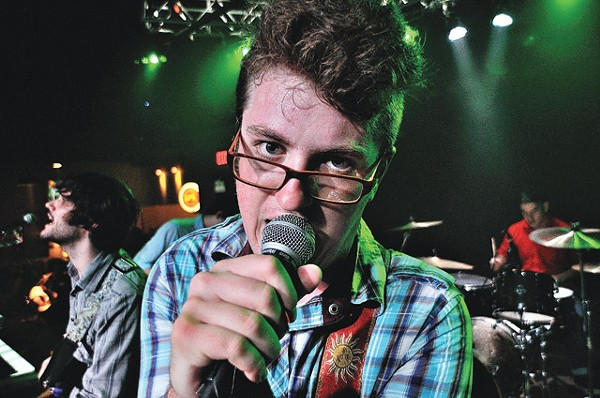 Kill 'em quick, kid: Cartogs frontman Jackson Albracht. - DAVE TERRY
