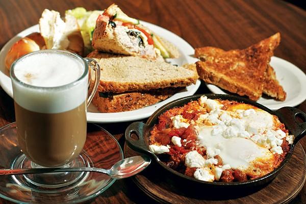 Kosher treats from Cafe Aroma. - STEVEN GILMORE