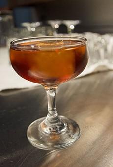 La Zorra is a pomegranate-infused concoction