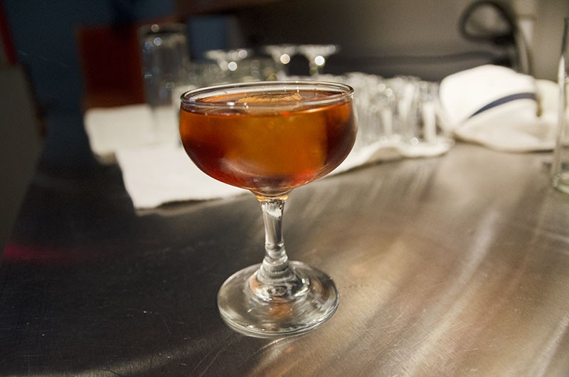 La Zorra is a pomegranate-infused concoction - JAIME MONZON