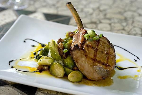 Las Ramblas' pork chop - COURTESY