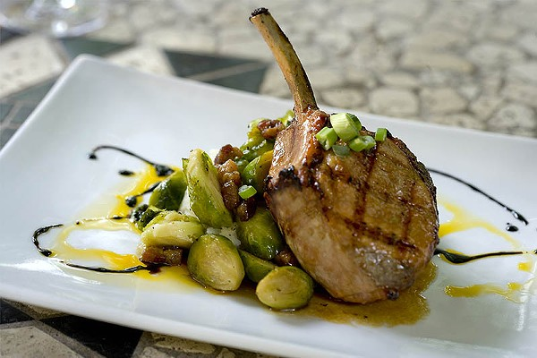 Las Ramblas' pork chop - COURTESY