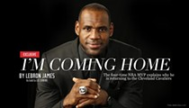 LeBron James returns to Cleveland Cavaliers
