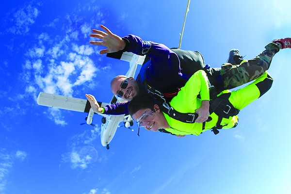 Let your inner daredevil loose this summer. - SKYDIVE SAN MARCOS