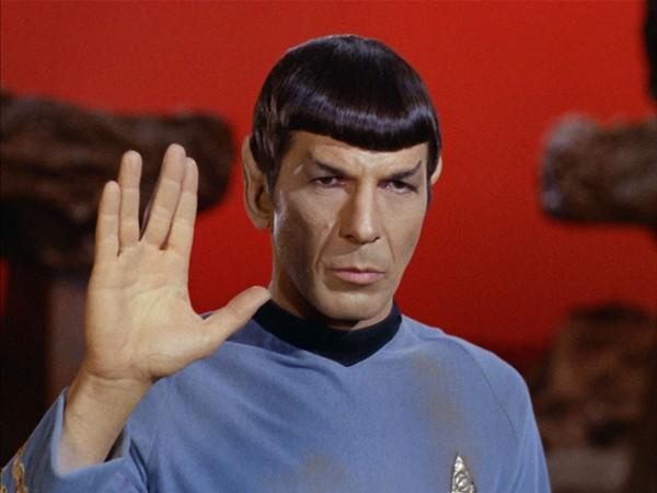Leonard Nimoy as Spock in Star Trek: The Original Series - COURTESY