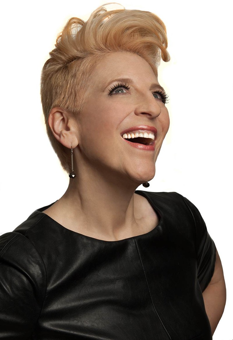 Lisa Lampanelli brings her Leaner Meaner Tour to the Tobin on Saturday - COURTESY