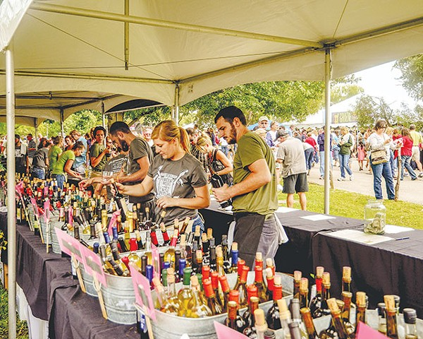 Load up on Texan wines this weekend - COURTESY PHOTO