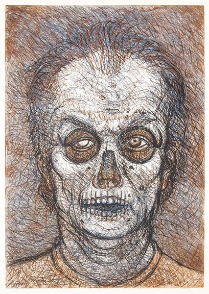 Luis Jiménez, 'Self-Portrait' - COURTESY PHOTO