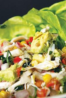 Lump crab salad from Sazo's Latin Grill