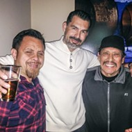 Machete Visits SA's Blue Box
