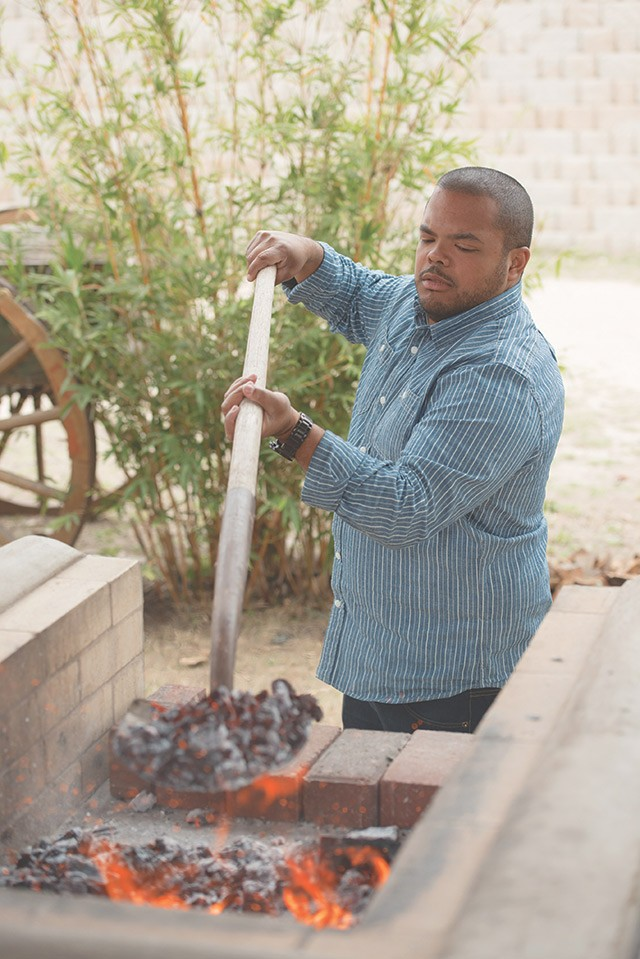 Man Fire Food's Mooking likes it hot - COURTESY OF COOKING CHANNEL