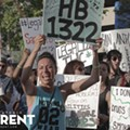 Hundreds March Through Downtown SA For Marijuana Legalization