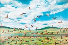 Martha Rosler, 'Nature Girls (Jumping Janes)'