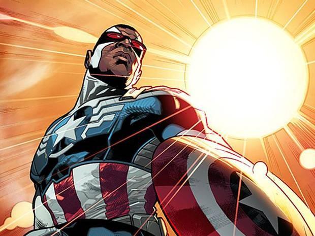 Marvel's new Captain of America