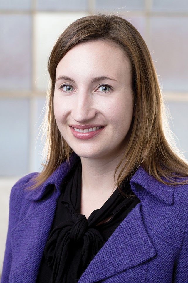 Mary Heathcott, named executive director of Blue Star Contemporary Art Museum in January - COURTESY PHOTO