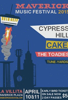 Maverick Music Festival Announces Initial Lineup: Cypress Hill, Cake, Toadies, tUnE-yArDs