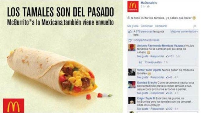 This screenshot posted by Texas Monthly captures an advertisement that made a lot of people angry at McDonald's. - TEXAS MONTHLY