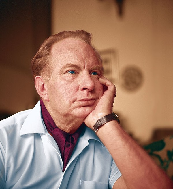 Messiah or con man? L. Ron Hubbard after seeing the dentist. - COURTESY PHOTO