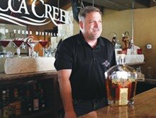 MICHAEL BARAJAS - Mike Cameron at Rebecca Creek Distillery