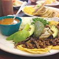 Lunchtime Snob: Loaded mini tacos at Taqueria Chapala Jalisco