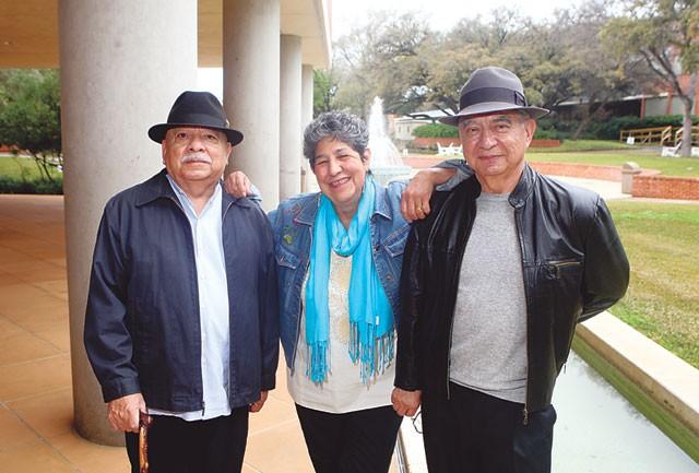 NACCS Scholars: Drs. Tomás Ybarra-Frausto, Antonia Castañeda, and Arturo Madrid - JUSTIN PARR