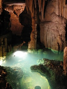 Natural Bridge Caverns. - COURTESY