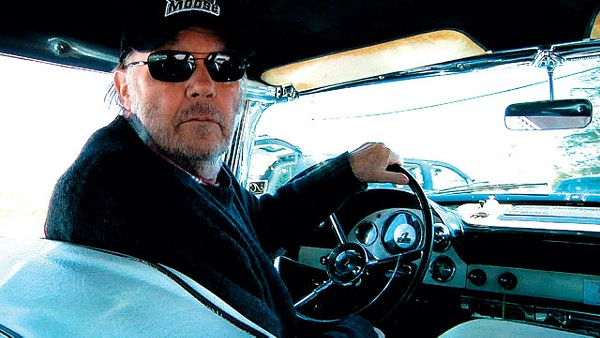 Neil Young behind the wheel in Journeys. - COURTESY PHOTO