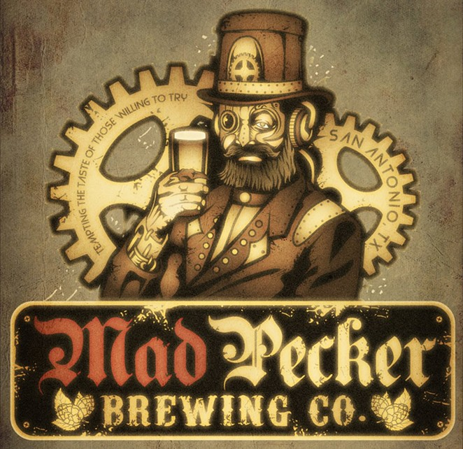 Mad Pecker's steampunk logo. - FACEBOOK