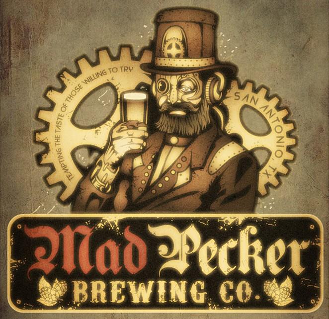 Mad Pecker's steampunk logo. - FACEBOOK