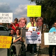 San Antonio Residents Call On Elizabeth Warren To Run For President
