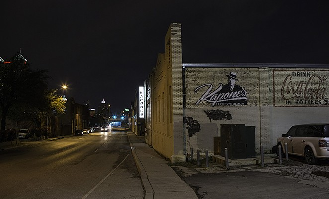 210 Kapone's has increased security since the murder of its owner in March. - J. MICHAEL SHORT