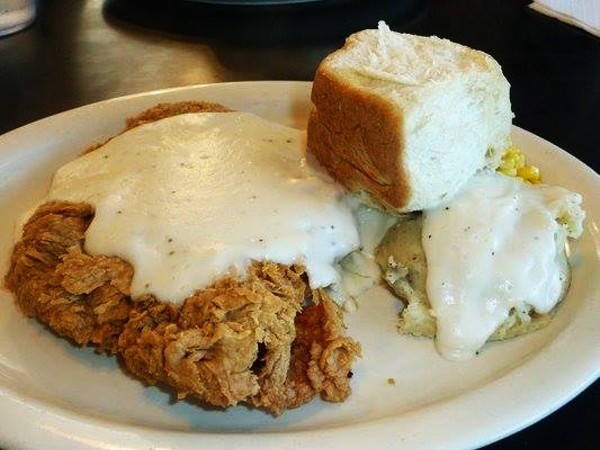There's all-you-can-eat chicken fried steak on Thursday, May 14. - COURTESY