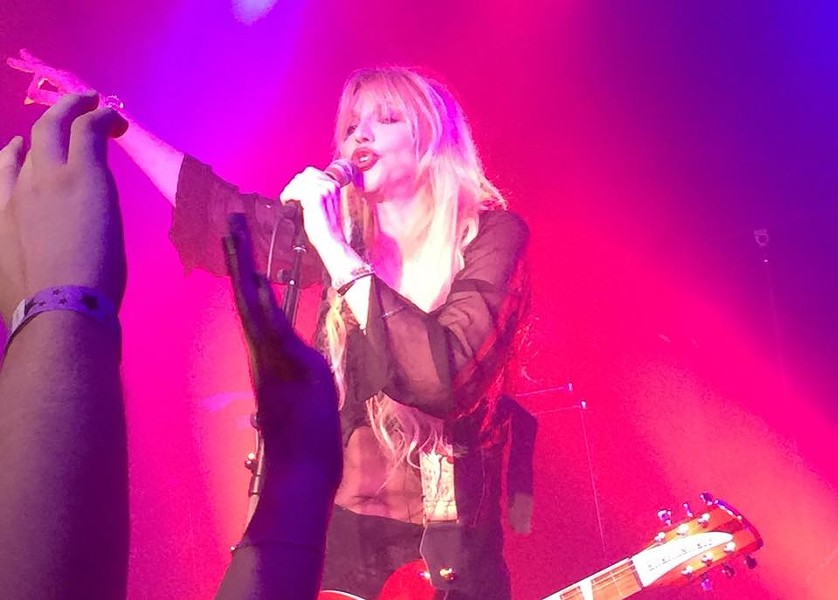 Courtney Love at Paper Tiger on May 8, 2015. - SHANNON SWEET