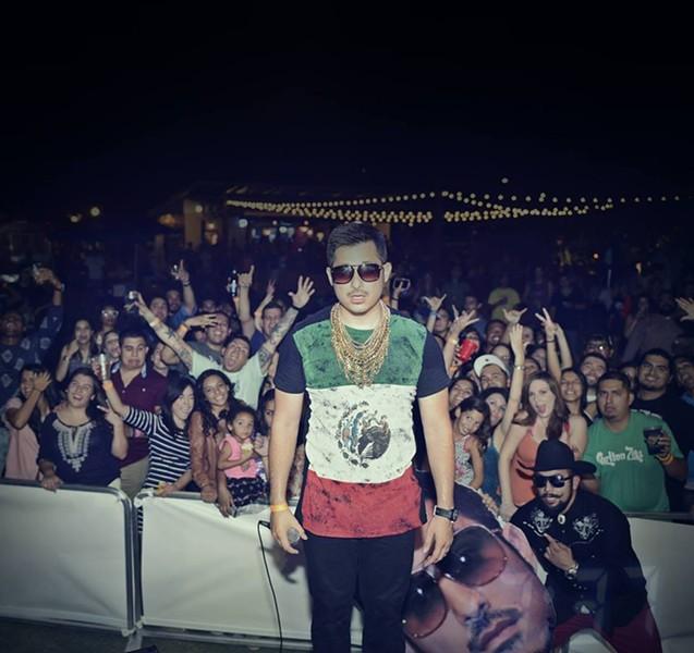SA rapper Carlton Zeus - VIA FACEBOOK