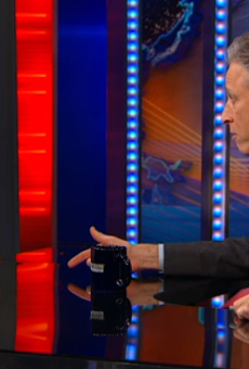 Secretary of Housing and Urban Development Julián Castro chat with John Stewart, host of The Daily Show.
