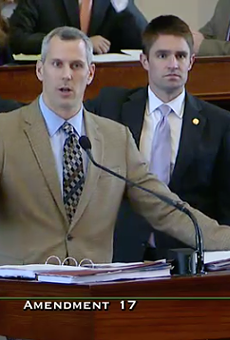 Rep. Matt Schaefer (R-Tyler) hijacked a bill that meant to improve operations at the Department of State Health Services with an amendment banning abortions after 20 weeks in fetuses with genetic abnormalities. The amendment passed despite objections from the bill's Republican author.