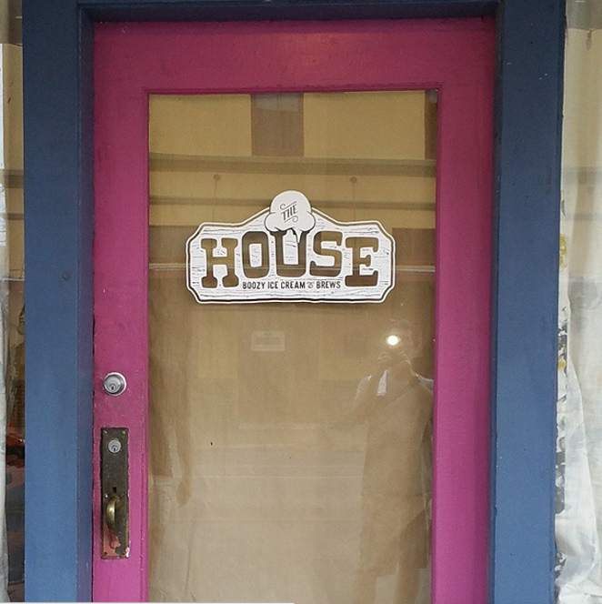 There's boozy ice cream behind this door. - @THEHOUSESA/INSTAGRAM