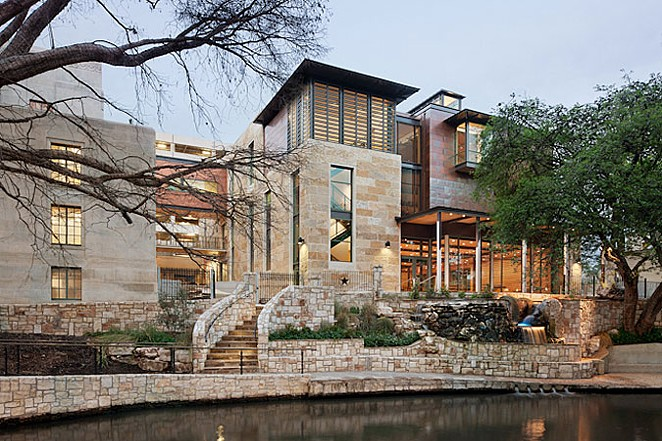 The Briscoe Western Art Museum was singled out as a reason people should visit San Antonio in 2015 - COURTEST LAKE FLATO ARCHITECTS