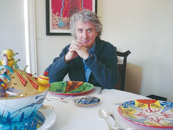 Nicolás Leiva at Ruiz-Healy Art. - SCOTT ANDREWS