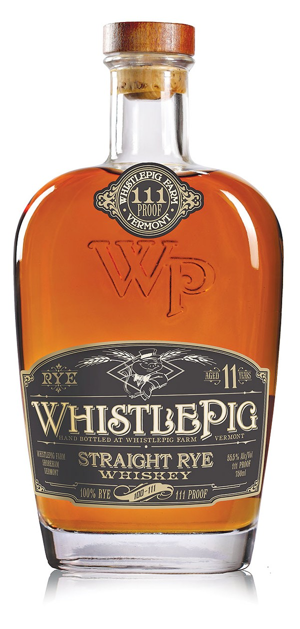 No messing around with this 111 proof rye - COURTESY PHOTO